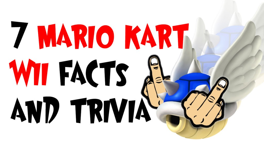 Mario Kart Wii facts and trivia
