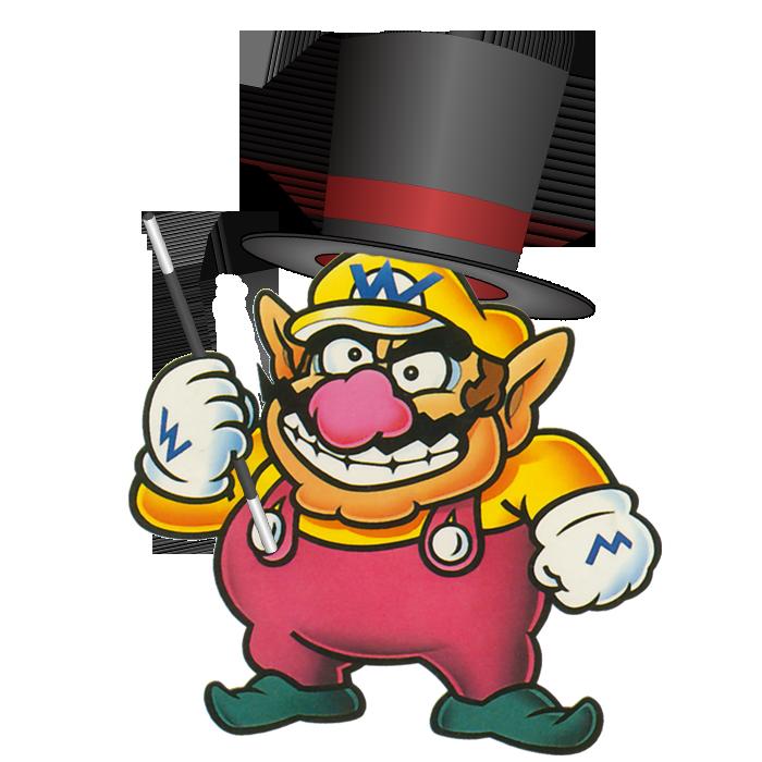 Wario magician