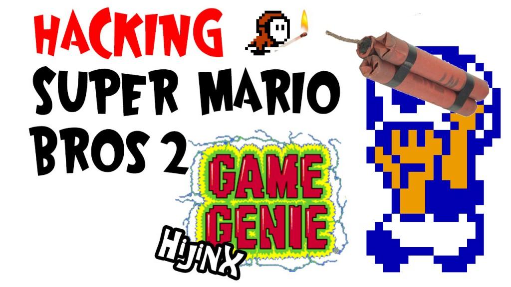 Hacking Super Mario Bros 2
