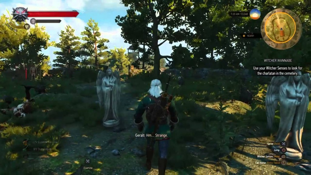 Witcher 3 weeping angels
