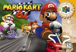 Mario Kart 64 game maps
