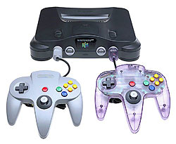 A Comparison of the Nintendo 64 and the Sony Playstation