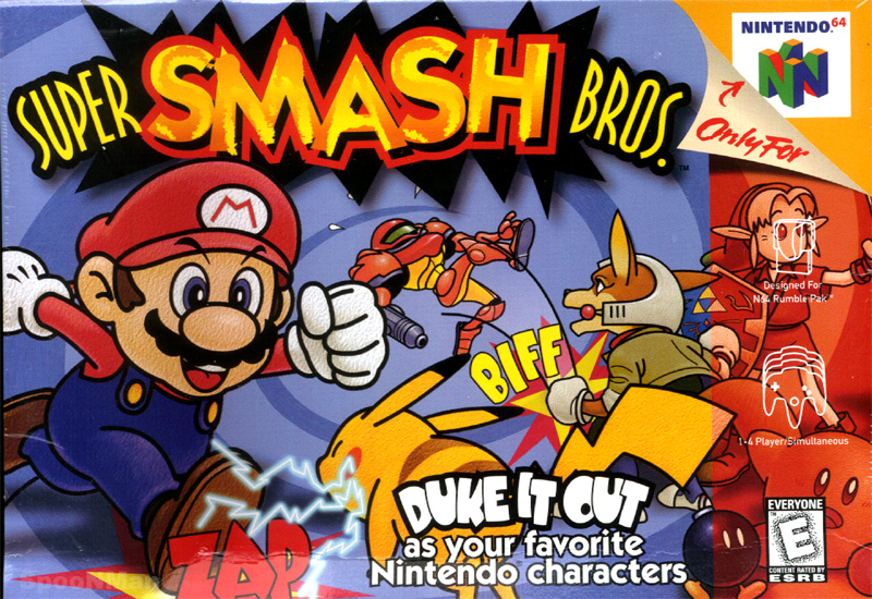 Super Smash Bros Series (one of the best and funnest game series i know) Supersmashbros1