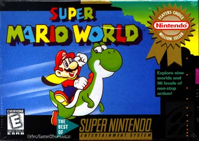 Super Mario World Game Genie Codes
