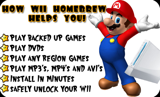 Wii Homebrew Review - unlock wii, softmod wii a review