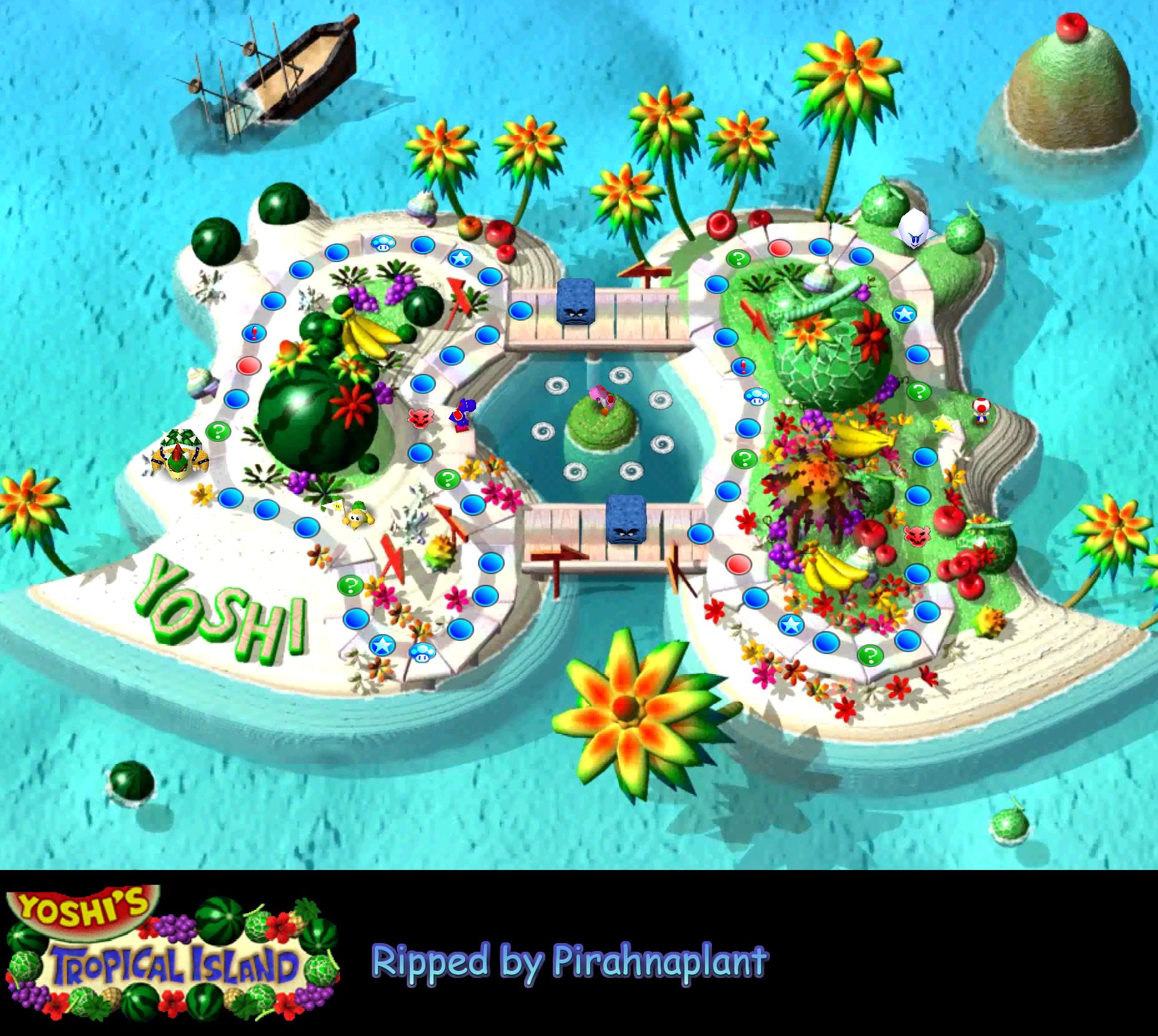 Mario Party 64 Game Maps