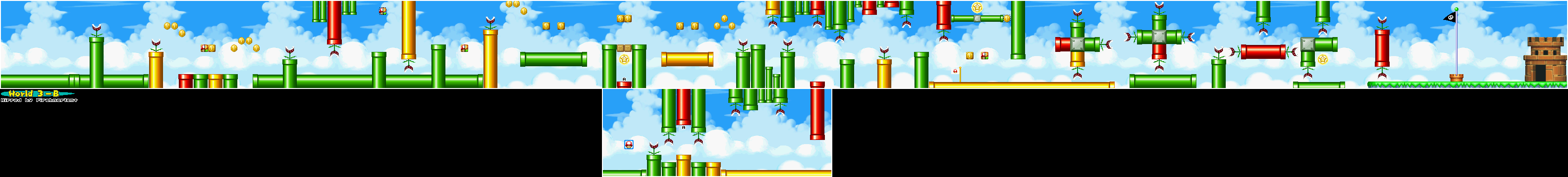 New super mario bros game maps ds 3 c world 4 gumiabroncs Images