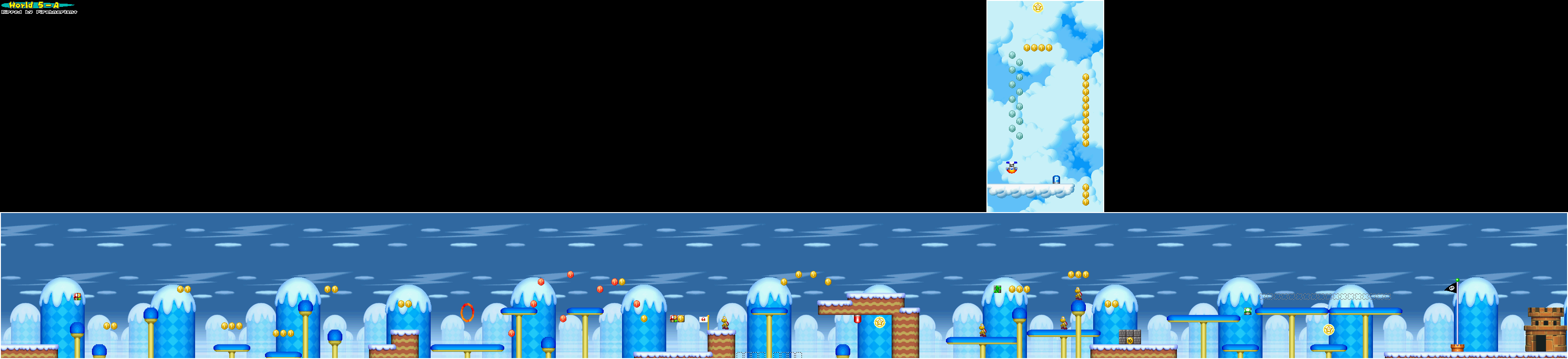New super mario bros game maps ds 5 a gumiabroncs Gallery