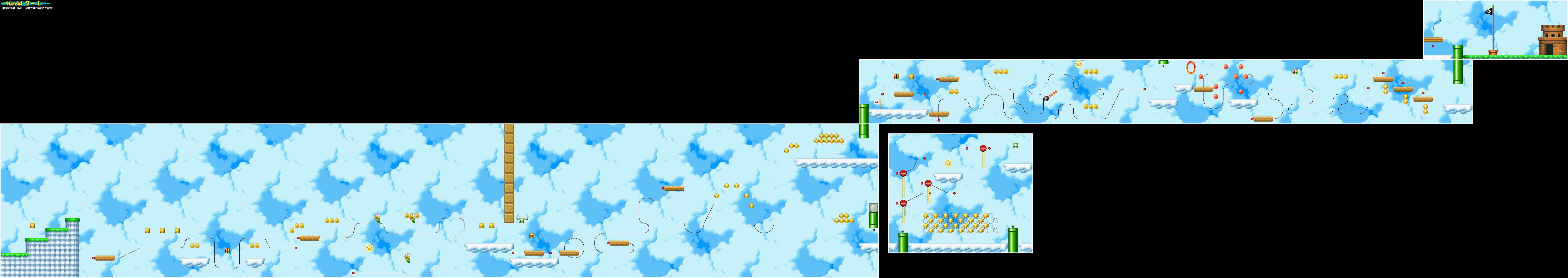 New super mario bros game maps ds world 7 gumiabroncs Images