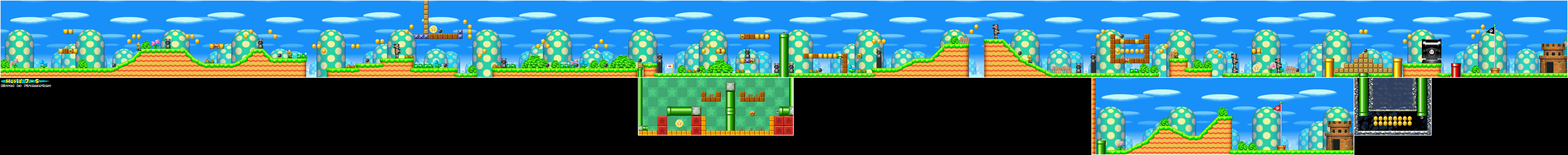 New super mario bros game maps ds 7 5 gumiabroncs Image collections