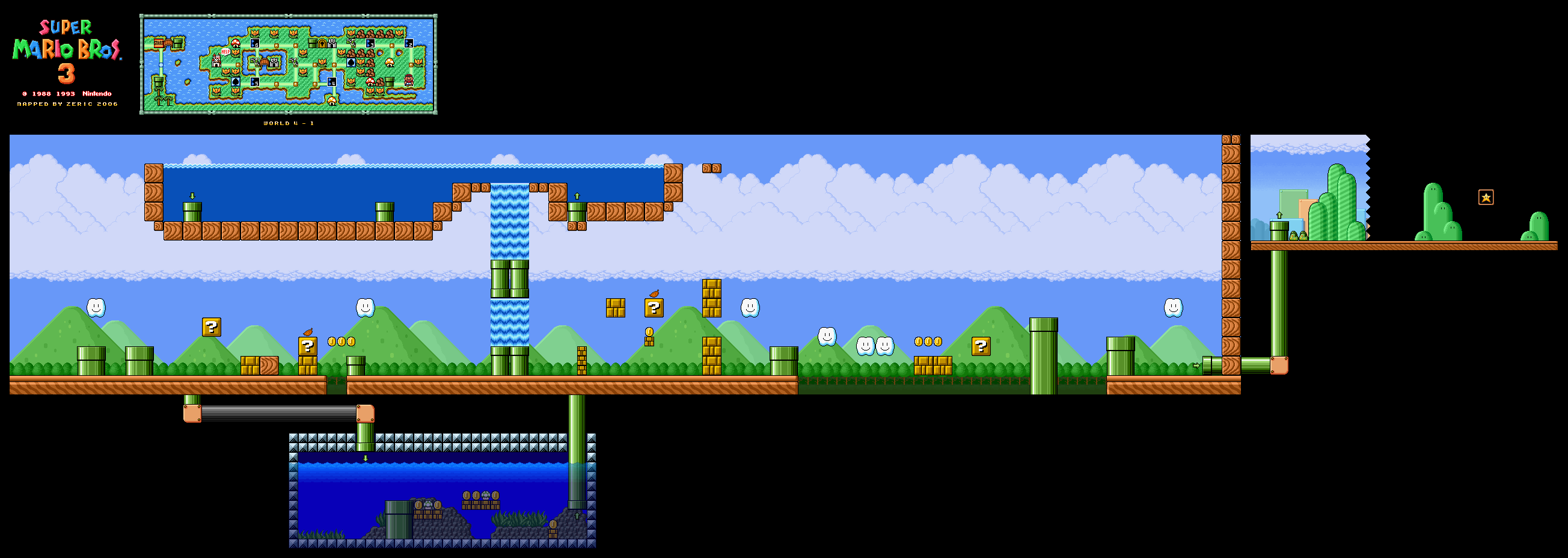 Super Mario All Stars Super Mario Bros 3 Snes Game Maps Download