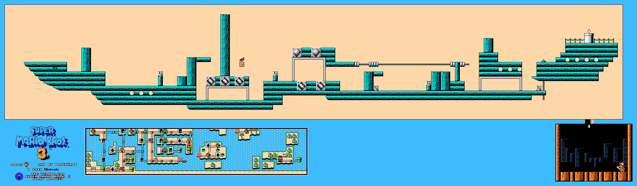 InstallerFree: Mario Bros Game Map