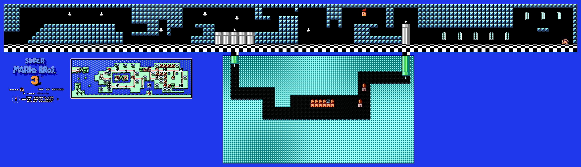 InstallerFree: Mario Bros Game Map