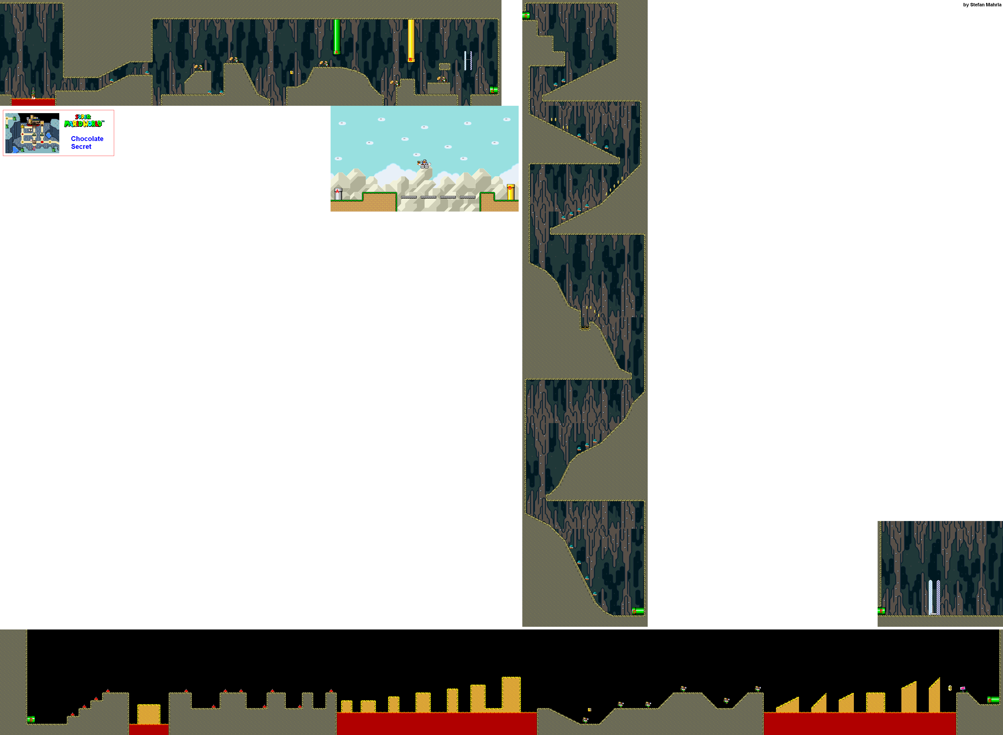 Super mario world levels game maps gumiabroncs Images