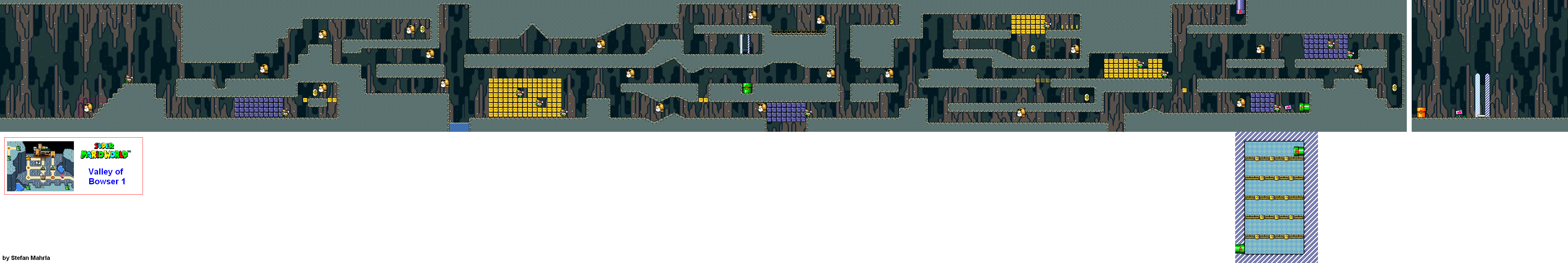 Super mario world levels game maps valley of bowser valley of bowser 1 gumiabroncs Gallery