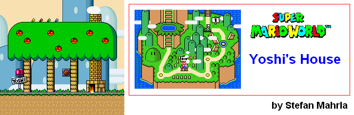 Super mario world levels game maps yoshis island yoshis house gumiabroncs Gallery