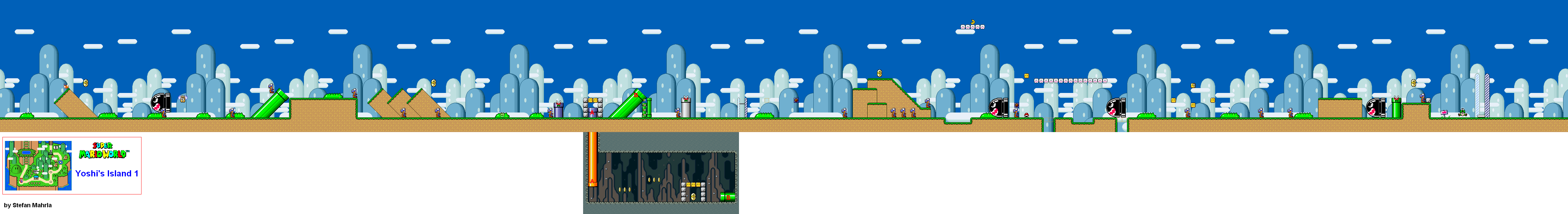 Super mario world levels game maps yoshis island yoshis island 1 gumiabroncs Gallery