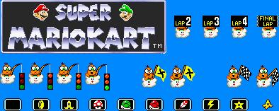 Mario Kart Sprites