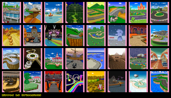 Mario Kart Ds Sprites Download