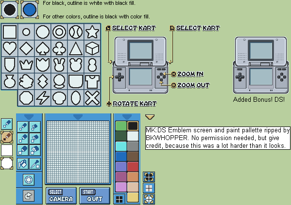 Mario paint composer ds paratroopa | gbatemp. Net the independent.