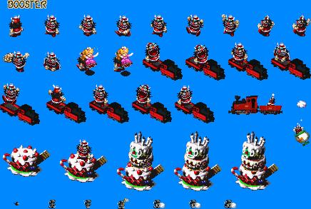 Super Mario RPG Sprites