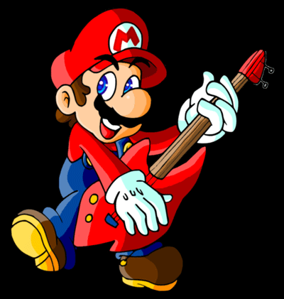 Super Mario Guitar Tab - Rock out with Mario on the guitar!