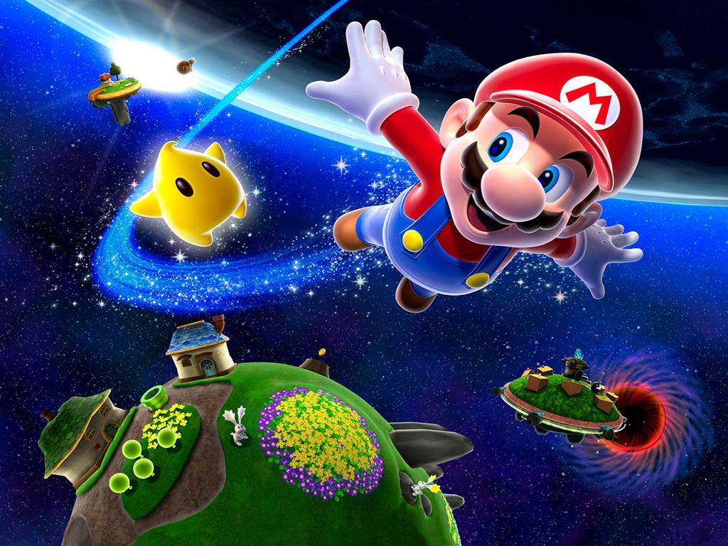 Super Mario Galaxy Wallpaper: Download Super Mario Wallpapers