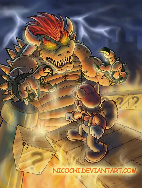 There Will Be Brawl - RISK Mario_vs_Bowser_by_nicochi