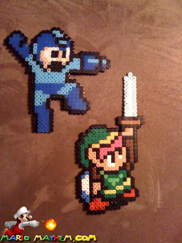 Link and Megaman Magnets