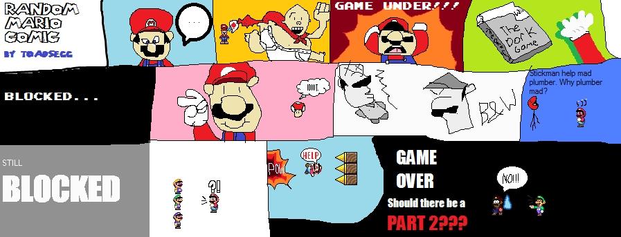 Super Mario Fan Comics