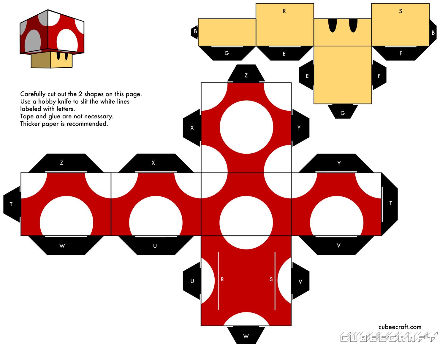 super mario papercraft mario origami