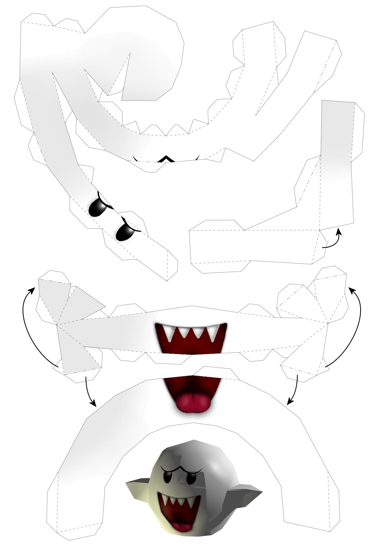 Super Mario papercraft - Mario Origami! - photo#25