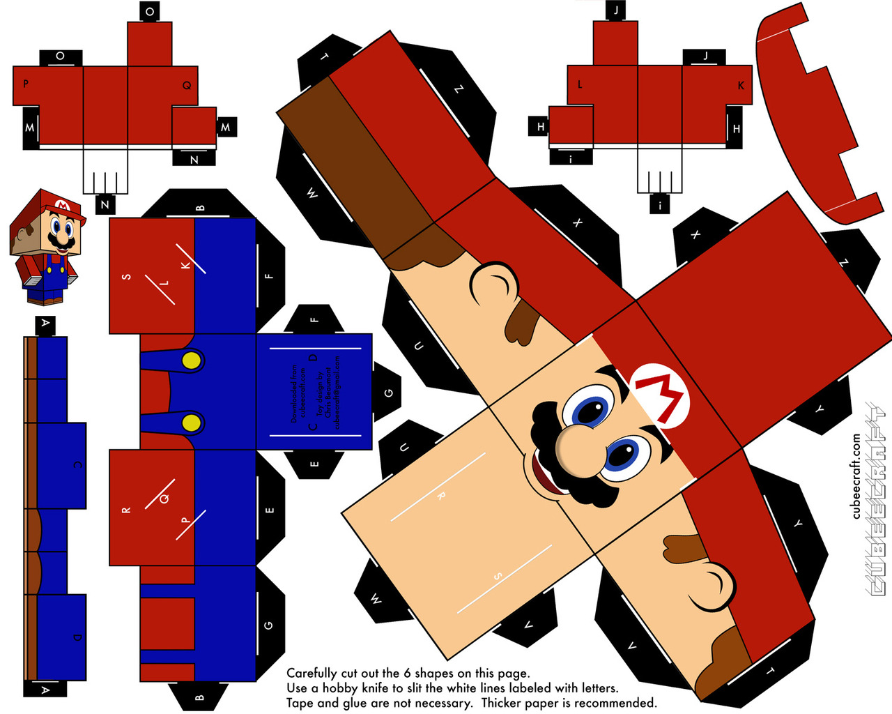 Paper Craft on Pinterest  Paper Toys, Printable Paper and Papercraft