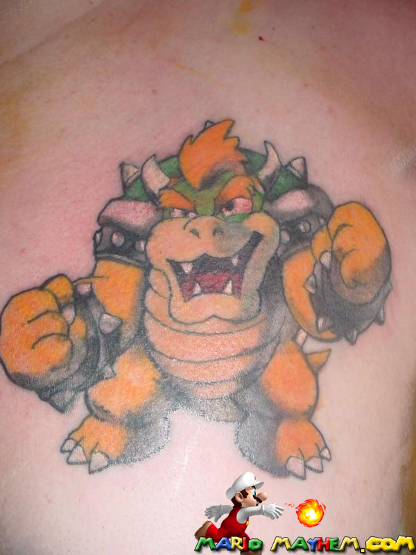 for friend's tattoo request. Tattoo on our friend Todd by Hiderow. Enmakun!
