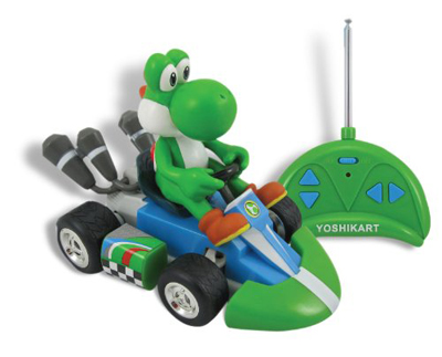 Medium Super Mario Kart Wii Remote Control Car Yoshi