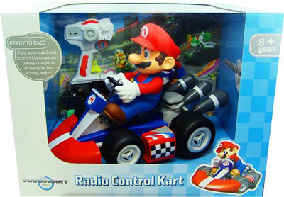 mario kart remote control car race actual remote control. Black Bedroom Furniture Sets. Home Design Ideas