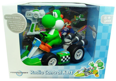 Giant Super Mario Kart Wii Remote Control Car Yoshi