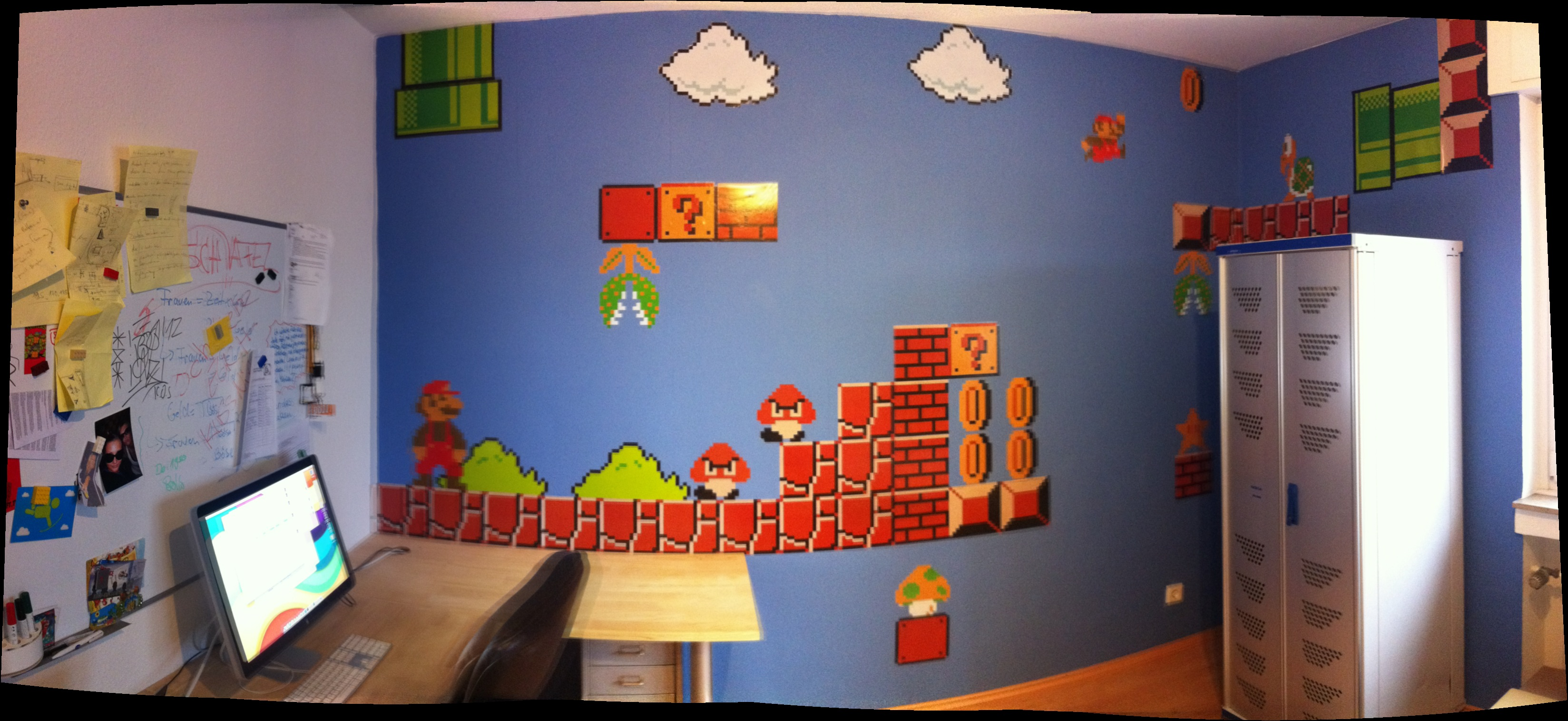 Mario wall stickers looking for some cool mario decorations for All room decoration games