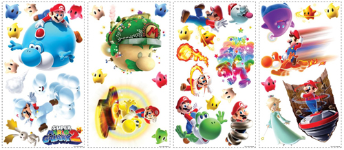 Super Mario Galaxy 2 Wall Stickers