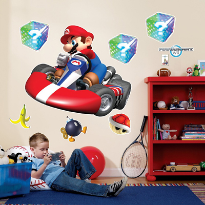 Mario Kart Wii Wall Stickers