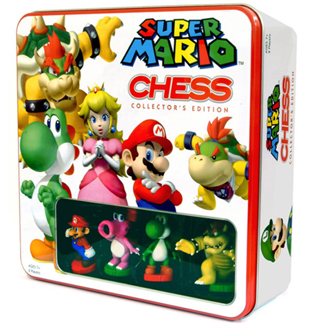 Mario Chess Set Box
