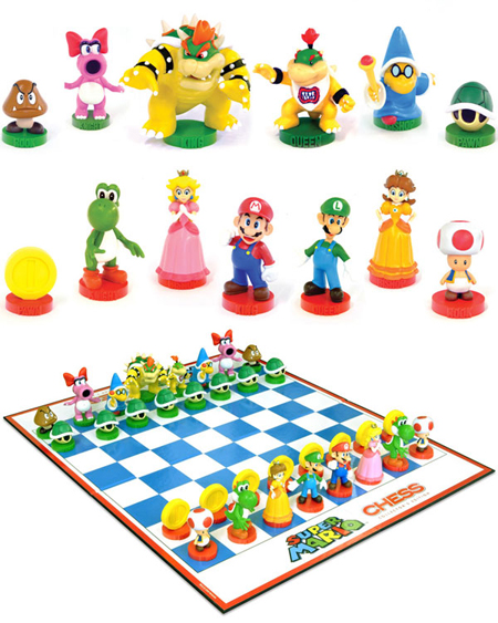 Mario Chess Set