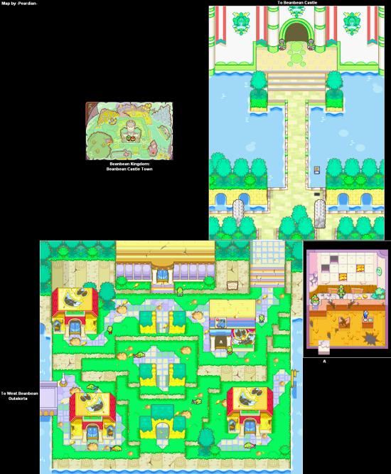 Mario and Luigi SuperstarSaga BeanbeanKingdom BeanbeanCastleTown(1)