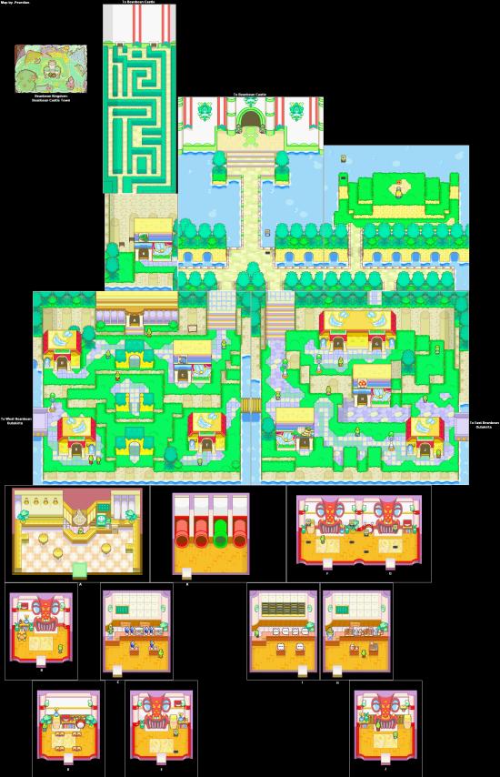 Mario and Luigi SuperstarSaga BeanbeanKingdom BeanbeanCastleTown(2)
