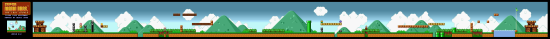 SuperMarioAll Stars SuperMarioBros LostLevels World4 2