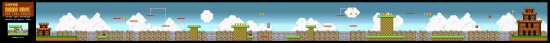 SuperMarioAll Stars SuperMarioBros LostLevels World4 3