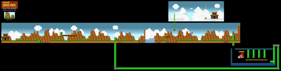 SuperMarioAll Stars SuperMarioBros LostLevels World8 2