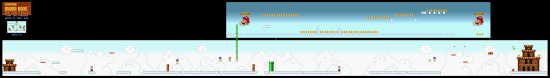 SuperMarioAll Stars SuperMarioBros LostLevels World8 3