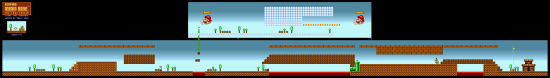 SuperMarioAll Stars SuperMarioBros LostLevels World9 3