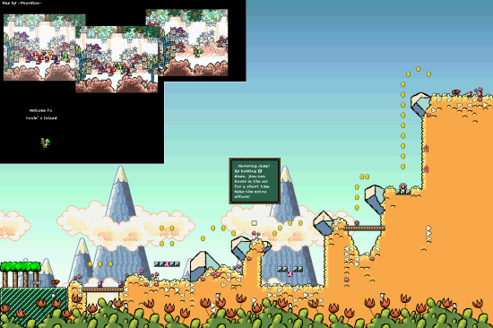 Yoshis Island World0 Welcome To Yoshis Island
